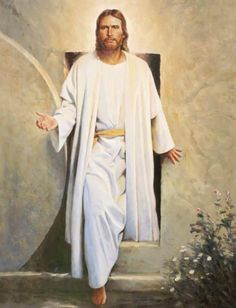 The resurrection of Jesus finished the job which the cross started. I intend to show here the importance of Jesus' resurrection and what it can mean in our lives. Images Bible, Image Jesus, Pictures Of Christ, Church Pictures, Lds Pictures, Jesus Wallpaper, Jesus Christus, Lds Art, Catholic Prayers