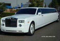 White Rolls Royce Phantom Limo  DonnaMorganEngagedWww.diamondlimousines.ca #DonnaMorganEngaged