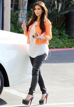 Washborn Wax Coated Jegging - as seen on Kim Kardashian