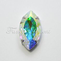 Swarovski Genuine 4227 32x17mm Clear AB Rhinestone Crystal Fancy Sew on Stone | eBay