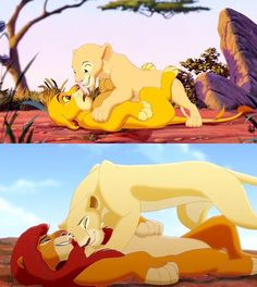 Shared by Find images and videos about disney, lion king and the lion king on We Heart It - the app to get lost in what you love. Simba E Nala, Kiara Lion King, The Lion King 1994, Lion King Fan Art, Lion King Movie, Lion King Simba, Le Roi Lion Disney, Simba Disney, Disney Couples
