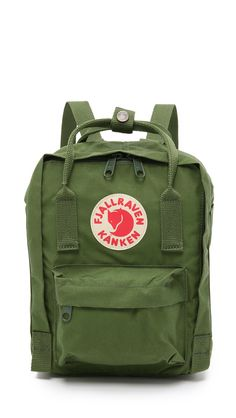 Fjallraven Kanken Mini Backpack - Leaf Green | SHOPBOP.COM saved by #ShoppingIS