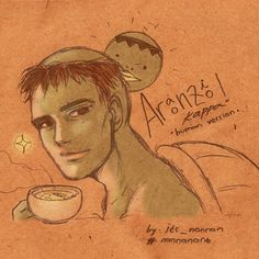 Fanart Kappa for Aranzi Cafe