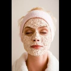 DIY oatmeal, olive oil, lemon juice, egg white face mask. Egg whites are excellent to use by themselves as a natural tightening mask. You can feel your pores constricting after 10 seconds of applying! It's like a mini-facelift.