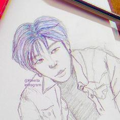 I can't sleep😭..so i doodle jongup😄  #sketch #art #illustration #artwork #egypt #kpop #idol #jongup #moonjongup #bap #doodle #wella_lolo #love #instagram #animation #한국 #미술 #스케치 #예쁜 #와 #كلنا_رسامين #كيبوب #رسم #pic #hollywood #korea #tumblr #twitter #singer #종업