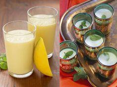 Das indische Kultgetränk Lassi selber machen | eatsmarter.de  Mangolassi schmeckt und lässt sich leicht selber machen.