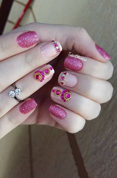 healthy easy breakfast ideas to lose weight diet food list Rhinestone Nails, Bling Nails, Nail Selection, Manicure Y Pedicure, Hello Kitty Wallpaper, Lip Art, Cool Nail Designs, Nail Arts, Coffin Nails