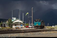 RailPictures.Net Photo: VIA 6419 VIA Rail EMD F40PH-3 at Jasper, Alberta, Canada by Mike Danneman