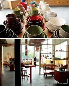 Loving the behind-the-scenes story of Heath Ceramics.