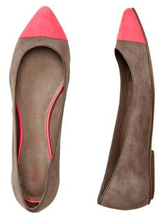 two-tone flats from the gap