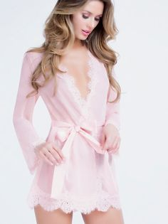 Lauren Short Robe by Oh La La Cheri Paris