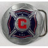 For Sale - Chicago Fire MLS Soccer Team Buckle  - See More At  http://sprtz.us/ChicagoFire