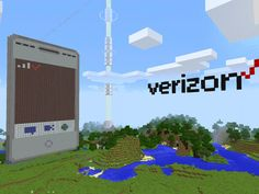 Verizon Makes a Working Video Calling Phone in Minecraft Newest Cell Phones, New Phones, New Zelda, Minecraft Videos, Youtube Gamer, Starship Enterprise, Use Of Technology, Data Transmission, Made Video