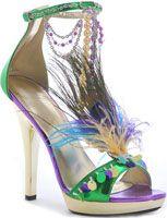 Holy Mardi Gras shoe!