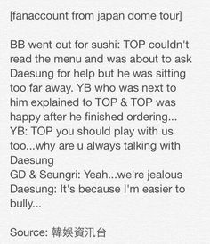 Although seriously, how many languages does Taeyang know?!? I already knew Korean and English.... But Japanese too?!