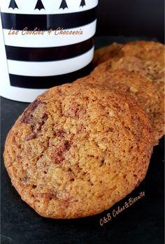 Les Cookies 4 Choconoix - C&B Cakes&Biscuits Cookies Et Biscuits, Bread, Cake, Food, Pie Cake, Pie, Cakes, Essen, Breads