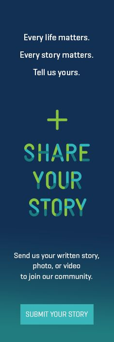 Our new feature, SHARE YOUR STORY
