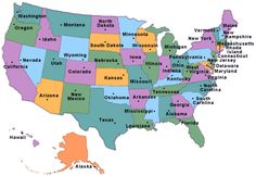 Visit all 50 states in the United States of America