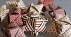 – Origami Community : Explore the best and the most trending origami Ideas and easy origami Tutorial Origami And Kirigami, Paper Crafts Origami, Diy Paper, Paper Crafting, Christmas Origami, Christmas Paper, Christmas Projects, Christmas Ornaments, Christmas Photos