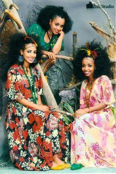 Traditional Ethiopian hair styles