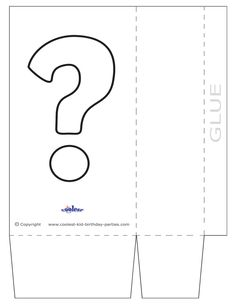 Large Printable Mystery Favorbag - Coolest Free Printables