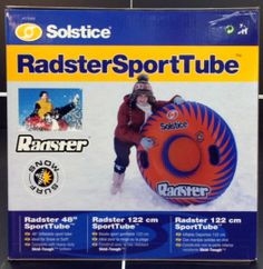 Snow tubes for young and old!
