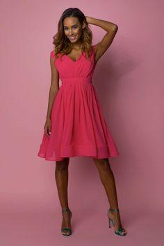 Sukienka Malena Róż Różowy   Nowości Wiosna / Lato \ Sukienki   Motive & More