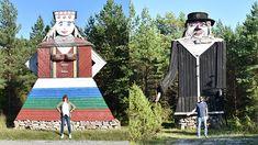 """Molinos """"humanos"""" en Saaremaa, Estonia"""