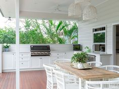 Whispered Bbq Area Ideas Secrets cool Remember how much storage you'll need for your kitchen. Where you choose to place your outdoor kitchen is dependent on many factors. An outdoor kitche. Outdoor Kitchen Cabinets, Outdoor Kitchen Design, Outdoor Kitchens, Outdoor Bbq Kitchen, Outdoor Barbeque, Patio Kitchen, Kitchen Bars, Outdoor Rooms, Outdoor Dining