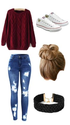 teenager outfits for school . teenager outfits for school cute Teenager Outfits, Teen Fall Outfits, Cute Casual Outfits, Cute Winter Outfits, Teen Fashion Outfits, Mode Outfits, Cute Fashion, Outfit Winter, Teen Fashion Winter