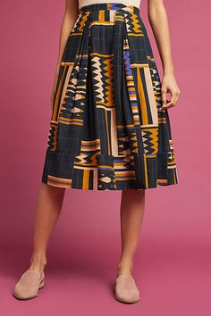 Love the length and woven fabric!