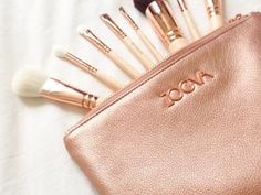 #2 revue –  Pinceaux Zoeva Rose Golden Luxury Set V.2 • Hellocoton.fr