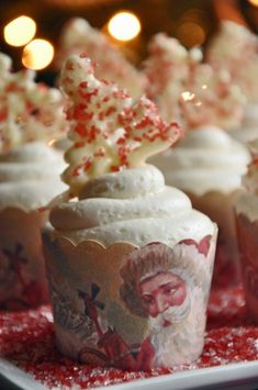 Spiced Rum Chocolate Cupcakes with Spiced Rum Buttercream