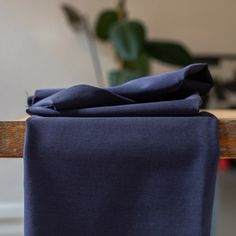 "This medium-weight stretch TENCEL brand lyocell blend twill from Danish high-end fabric manufacturer meetMILK has a lovely drape, a luxurious soft touch, and just the right amount of elastane to keep it almost wrinkle free compared to other rayon blends.  This TENCEL twill in ""blueberry"" is a bright navy color with a matte finish, and created using OEKO-TEX certified dyes. TENCEL brand lyocell fibers are derived from sustainable wood sources and produced in an environmentally responsible… Owl Fabric, Wood Source, Sustainable Fabrics, Navy Color, Blueberry, Dyes, Danish, Bright, Touch"