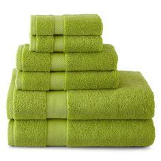 jcp | JCPenney Home™ 6-pc. Bath Towel Set | $19.99