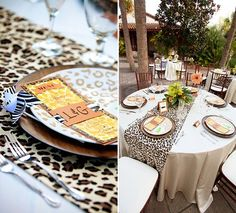 Napkins Bracelets Birthday Button Small Plates Razzle Dazzle Celebrations 03 Cheetah Leopard Party Supplies for 16 Guests