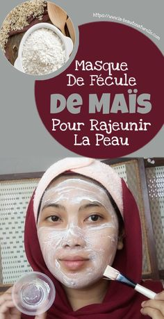 Mask of corn starch to rejuvenate the skin Rodan Fields Skin Care, Rodan And Fields, Beauty Tips For Face, Beauty Hacks, Natural Face Moisturizer, Burn Belly Fat, Diy Skin Care, Anti Aging Skin Care, Face Care