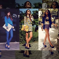 Leia aqui!: http://imaginariodamulher.com.br/look/?go=2lecDqG  10 Looks com scarpin azul e onde Encontrar #achadinhos #modafeminina #modafashion #tendencia #modaonline #moda #instamoda #lookfashion #blogdemoda #imaginariodamulher