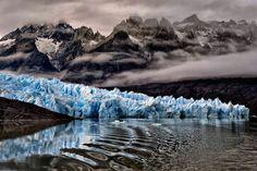Katsu Tanaka photo of a glacier in Patagonia