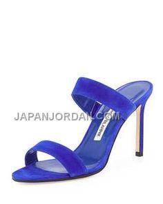 http://www.japanjordan.com/manolo-blahnik-muluca-suede-doubleband-sandal-blue.html MANOLO BLAHNIK MULUCA SUEDE DOUBLE-BAND SANDAL 青 ホット販売 Only ¥23,203 , Free Shipping!