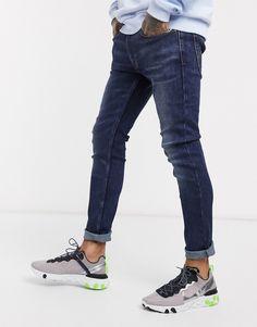 Jeans Fit, Rolled Jeans, Stretch Denim, Levis, Asos, Super Skinny, Skinny Fit, Denim Branding, Cowboys