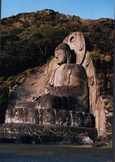 Big Buddha, Nihonji Temple, Chiba Prefecture, Japan