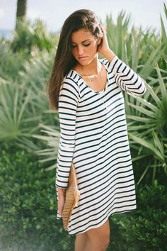 Striped Sawyer Dress