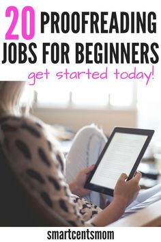 Proofreading Jobs are a great side hustle to earn extra money! Here are 20 of the best proofreading jobs for beginners. If you are a grammar expert, then check out this list to get started earning extra money working from home as a proofreader. Earn Money From Home, Earn Money Online, Way To Make Money, Online Income, Online Earning, Marketing Program, Marketing Jobs, Work From Home Opportunities, Work From Home Jobs