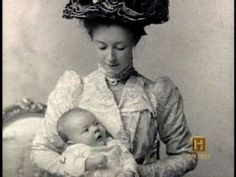 Anna Reeves Jarvis holding Anna Marie