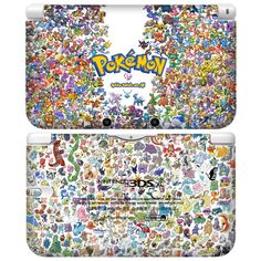 POP SKIN Skin Decals Stickers for Nintendo XL LL Console Pokemon Poke Design - Korea Made. - Perfect fit for Nintendo Console. Using the finest Automotive-grade Decals for Luxury Car Tuning / Print is not cleared. Nintendo 3ds, Nintendo Consoles, My Pokemon, Cool Pokemon, Thumb Wars, Custom Consoles, Gotta Catch Them All, New Video Games, Pokemon Pictures