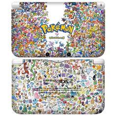 POPSKIN Skin Decals Stickers for Nintendo 3DS XL LL Console Pokemon - Poke #09 #POPSKIN KOREA