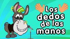 Los dedos de la mano - Canción para niños - Songs for Kids in spanish