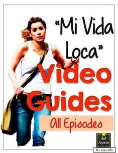 Mi vida loca - Video Guides for this beginning Spanish FREE streaming video series. By Sol Azúcar