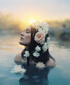 Soil & Stem retrato - retratos femininos - ensaio feminino - ensaio externo - fotografia - ensaio fotográfico - book - flowers - flores - water - água